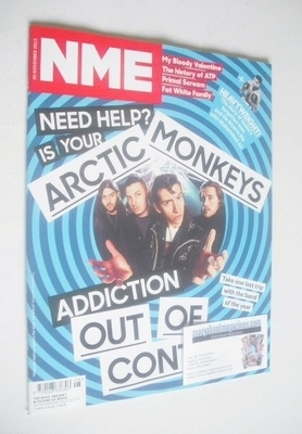 <!--2013-11-30-->NME magazine - Arctic Monkeys cover (30 November 2013)