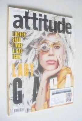 <!--2013-12-->Attitude magazine - Lady Gaga cover (December 2013)