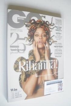 British GQ magazine - December 2013 - Rihanna cover