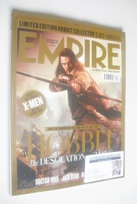 <!--2013-12-->Empire magazine - Bard The Bowman cover (December 2013 - Issu