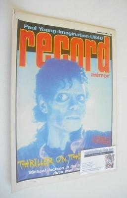 <!--1983-12-03-->Record Mirror magazine - Michael Jackson cover (3 December