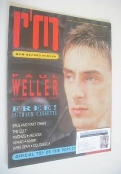 Record Mirror magazine - Paul Weller cover (28 September 1985)
