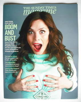 <!--2009-12-13-->The Sunday Times magazine - Anna Friel cover (13 December