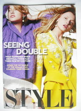 <!--2009-12-13-->Style magazine - Seeing Double cover (13 December 2009)