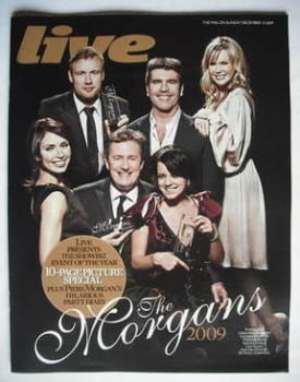 Live magazine - The Morgans cover (13 December 2009)