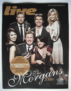 <!--2009-12-13-->Live magazine - The Morgans cover (13 December 2009)