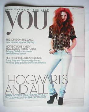 <!--2009-12-13-->You magazine - Bonnie Wright cover (13 December 2009)