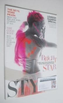 Style magazine - Carey Mulligan cover (11 September 2011)