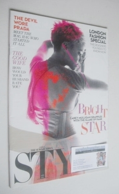 <!--2011-09-11-->Style magazine - Carey Mulligan cover (11 September 2011)