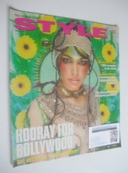 Style magazine - Hooray For Bollywood cover (28 April 2002)