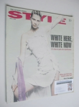 Style magazine - White Here White Now cover (14 April 2002)