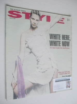 <!--2002-04-14-->Style magazine - White Here White Now cover (14 April 2002