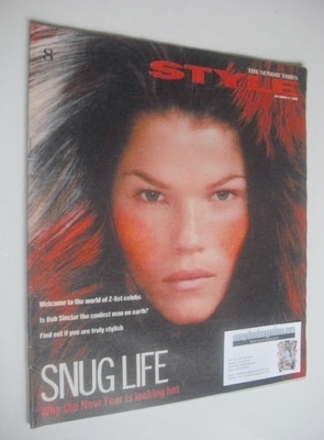 <!--2000-12-31-->Style magazine - Snug Life cover (31 December 2000)
