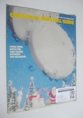 <!--1992-12-01-->The Sunday Times magazine supplement - Xmas Survival Guide