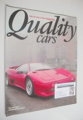 <!--1990-01-->The Sunday Times magazine supplement - Quality Cars (1990)