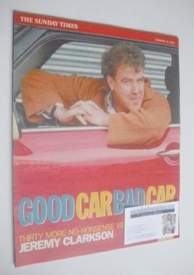<!--2002-02-10-->The Sunday Times magazine supplement - Good Car Bad Car (1