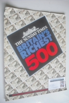The Sunday Times Britain's Richest 500 cover (1994)