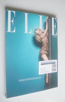 <!--2011-04-->British Elle magazine - April 2011 - Gwen Stefani cover (Subs