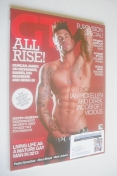 Gay Times magazine - Duncan James cover (June 2013)