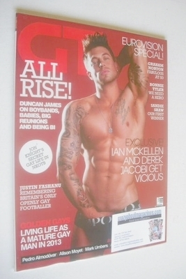 <!--2013-06-->Gay Times magazine - Duncan James cover (June 2013)