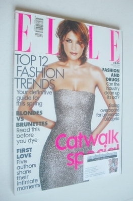 <!--1998-02-->British Elle magazine - February 1998 - Helena Christensen co