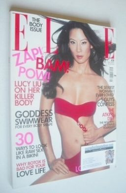 <!--2003-05-->British Elle magazine - May 2003 - Lucy Liu cover