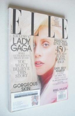 <!--2013-10-->US Elle magazine - October 2013 - Lady Gaga cover