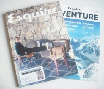 Esquire magazine - Joaquin Phoenix cover (December 2013 - Subscriber's Issue)