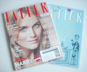 <!--2013-10-->Tatler magazine - October 2013 - Cressida Bonas cover