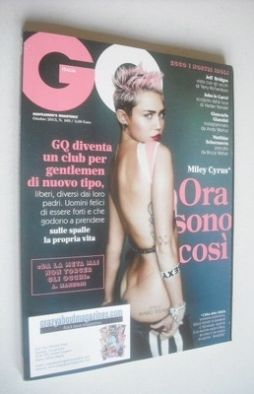 <!--2013-10-->Italy GQ magazine - October 2013 - Miley Cyrus cover