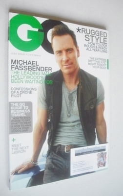 <!--2013-11-->US GQ magazine - November 2013 - Michael Fassbender cover