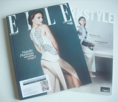 <!--2013-11-->British Elle magazine - November 2013 - Natalie Portman cover