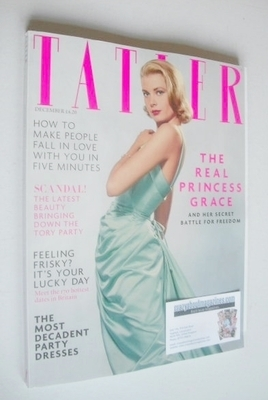 <!--2013-12-->Tatler magazine - December 2013 - Princess Grace cover