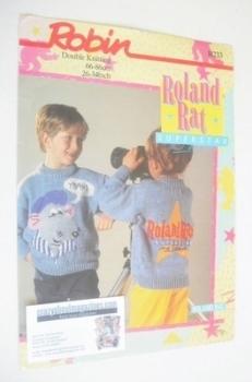 Roland Rat Sweater Knitting Pattern (Robin R233) (Child/Adult Size)