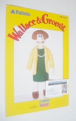 Wendolene Toy Knitting Pattern (Patons PBN E2361)