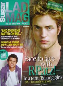 Lad magazine - Robert Pattinson cover (December 2009)