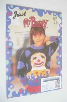 Mr Blobby Sweater Knitting Pattern (Jarol E839) (Child Size)