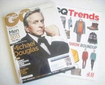 British GQ magazine - October 2013 - Michael Douglas cover