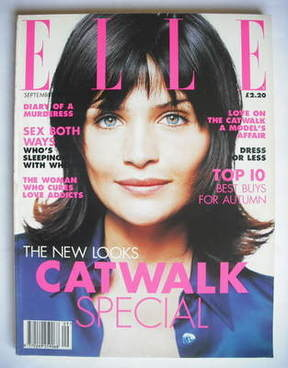 <!--1995-09-->British Elle magazine - September 1995 - Helena Christensen c