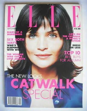 <!--1995-09-->British Elle magazine - September 1995 - Helena Christensen c