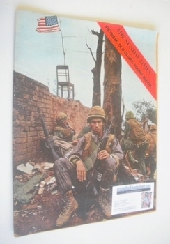 The Sunday Times magazine - Vietnam cover (24 March 1968)