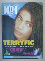 <!--1987-07-11-->No 1 Magazine - Terence Trent D'Arby cover (11 July 1987)
