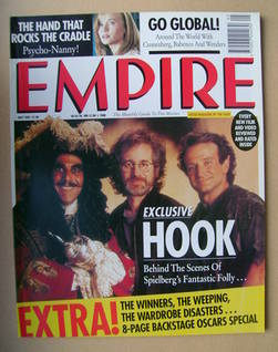 <!--1992-05-->Empire magazine - Hook cover (May 1992 - Issue 35)