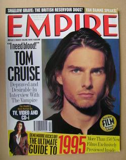 <!--1995-02-->Empire magazine - Tom Cruise cover (February 1995 - Issue 68)
