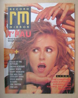 <!--1987-11-21-->Record Mirror magazine - Carol Decker cover (21 November 1