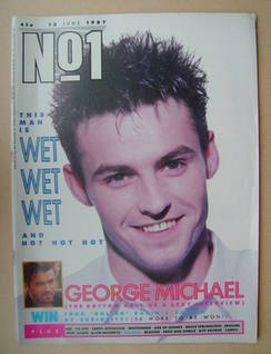 <!--1987-06-13-->No 1 Magazine - Marti Pellow cover (13 June 1987)