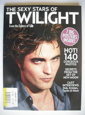The Sexy Stars Of Twilight magazine - Robert Pattinson cover (Autumn 2009)