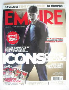 <!--2009-12-->Empire magazine - Daniel Radcliffe cover (December 2009)