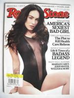 <!--2009-10-01-->Rolling Stone magazine - Megan Fox cover (1 October 2009)