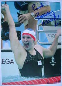 Becky (Rebecca) Adlington autograph